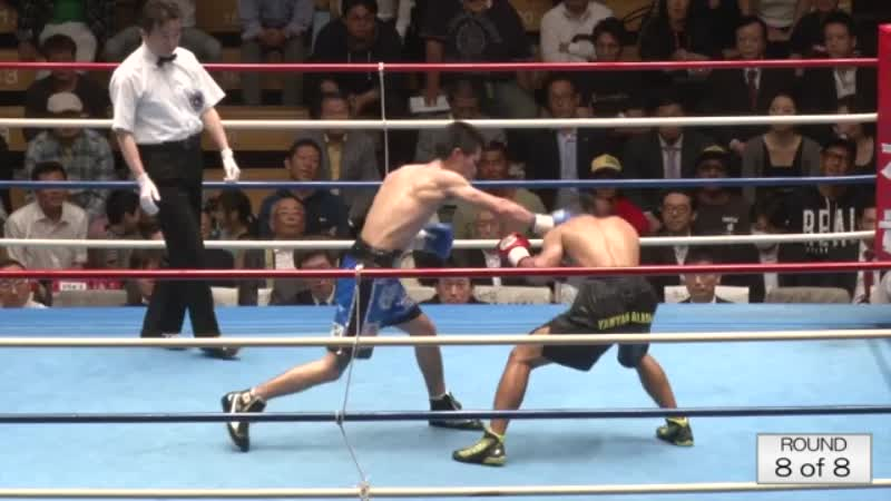 マイケル・エスコビア VS 江藤 光喜
