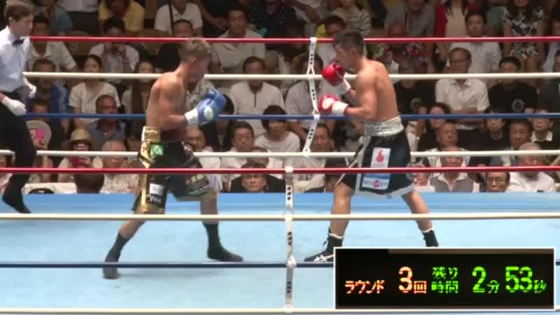 岡田 博喜 VS 青木クリスチャーノ