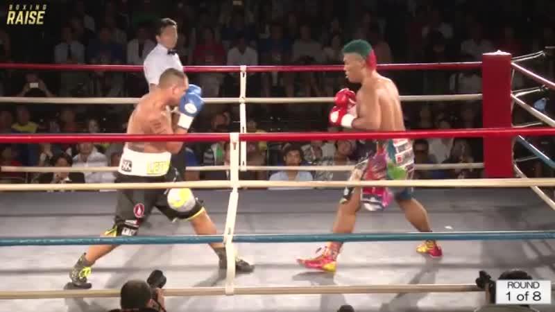 藤本 京太郎 VS アダム・ラブロック