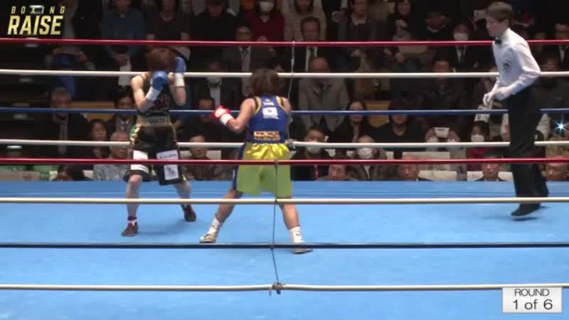 ソーンサワン・サラカーンジム VS 江畑 佳代子