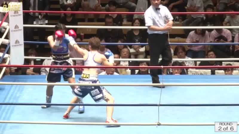 ペッチパヤ・モークルンテープトンブリ VS 箕輪 綾子