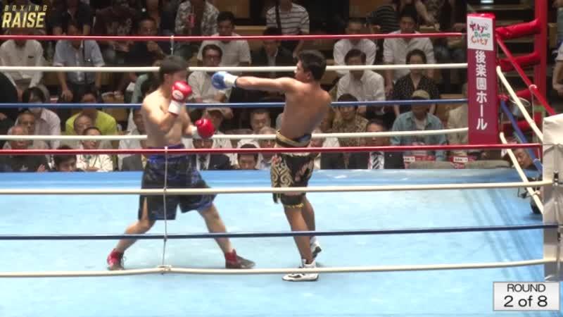 稲垣 孝 VS ヴィーラサック・ヒマーライジム