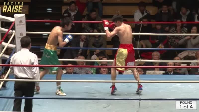 神津 徳臣 VS 小野 力也