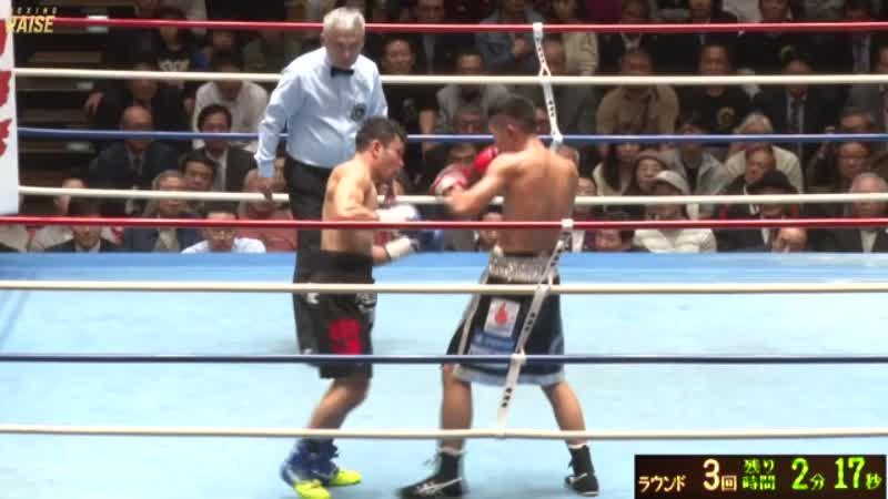 岡田 博喜 VS 細川 バレンタイン