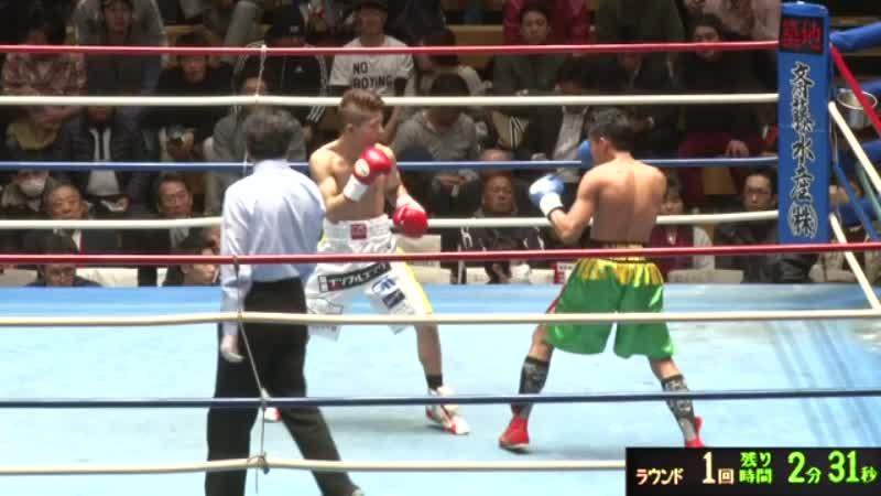 小浦 翼 VS ジェフリー・ガレロ