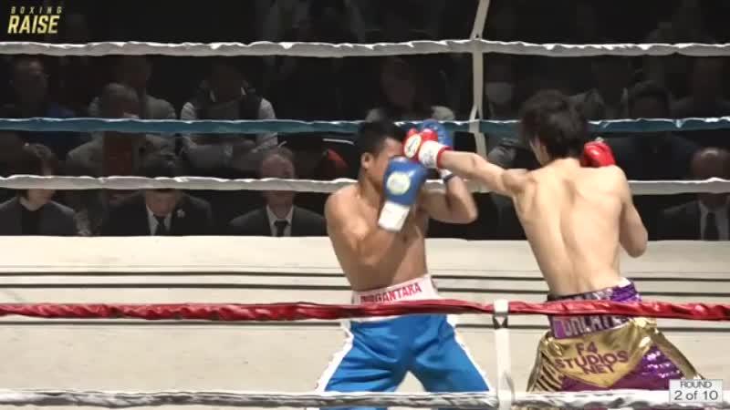 丸田 陽七太 VS ハムソン・タイガー・ラマンダウ