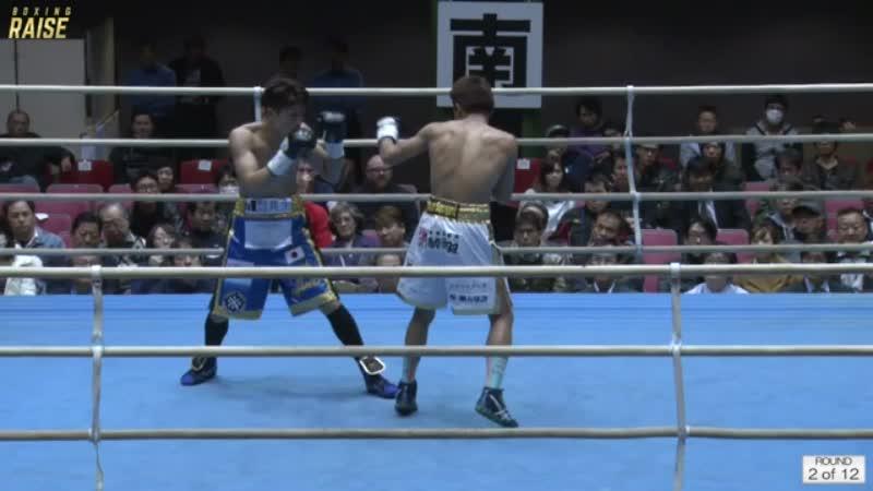 レネ・ダッケル VS 川口 勝太
