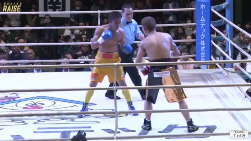 京口 竜人 VS シルベスター ロペス