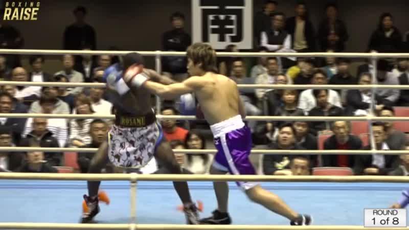 高橋 祐貴 VS サム・プアディ