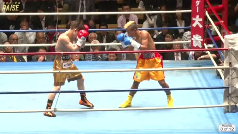 京口 紘人 VS ジョナサン レフジオ