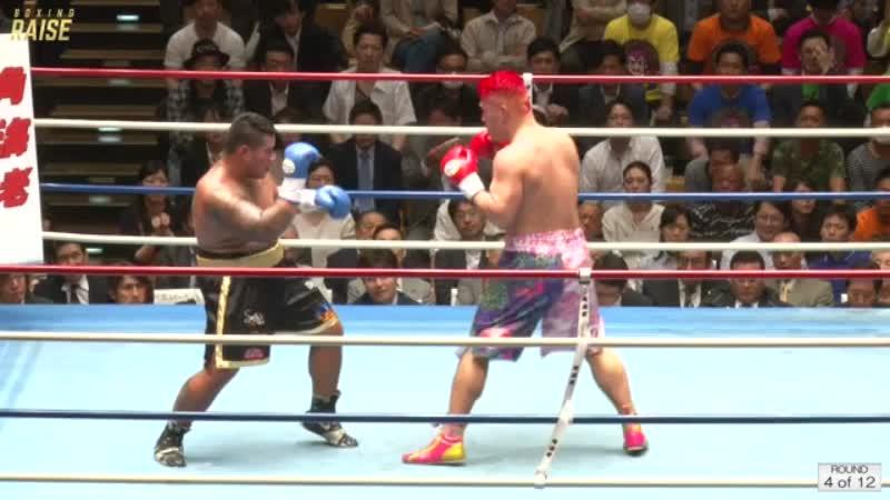 藤本 京太郎 VS ヘルマン パーセル