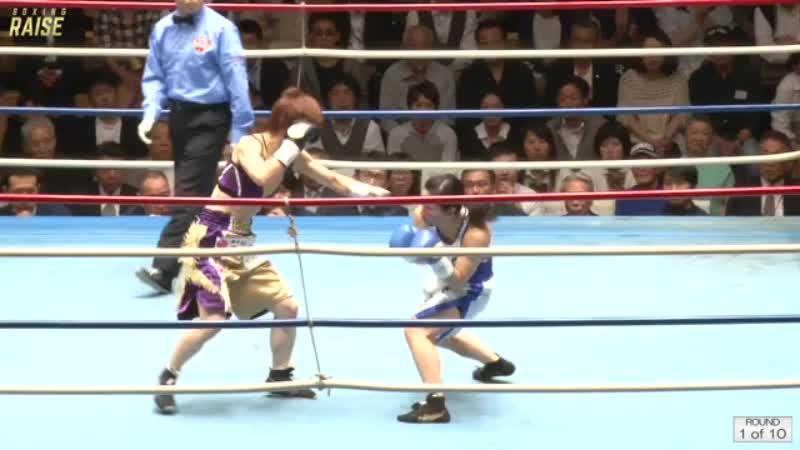 江畑 佳代子 VS 塙 英理加