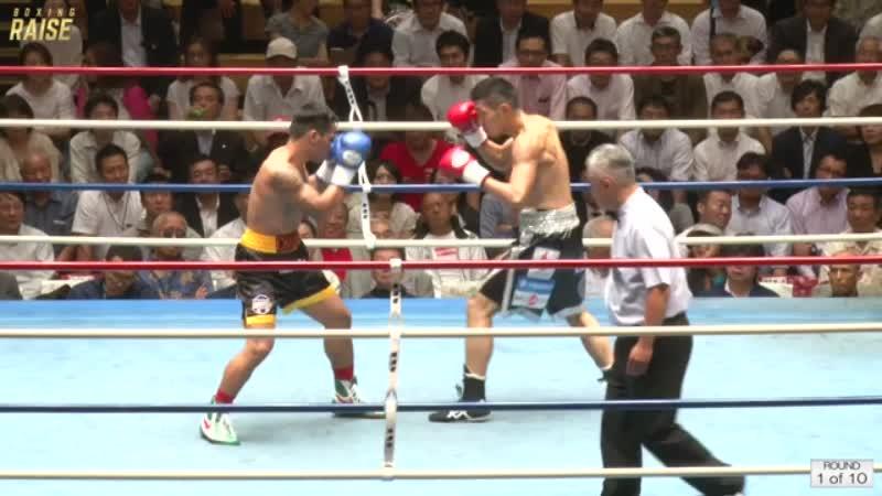 岡田 博喜 VS ジェリッツ チャベス