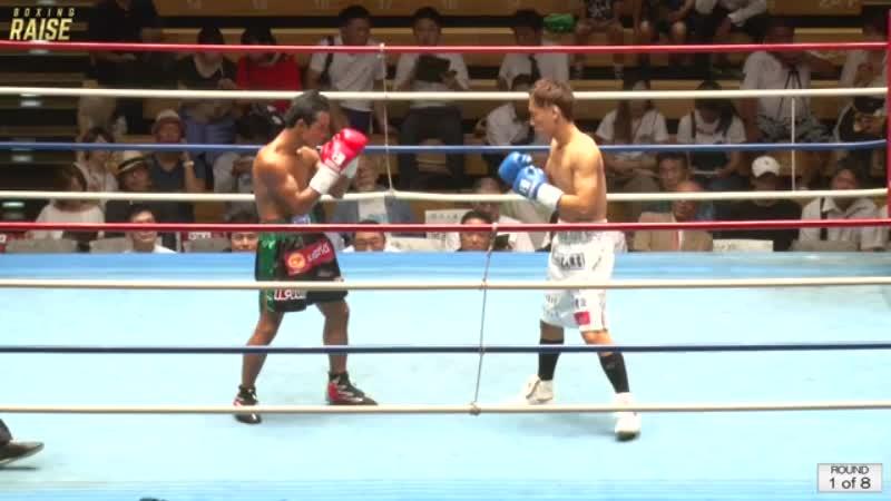 ソンセーンレック・ポスワンジム VS 上岡 泰