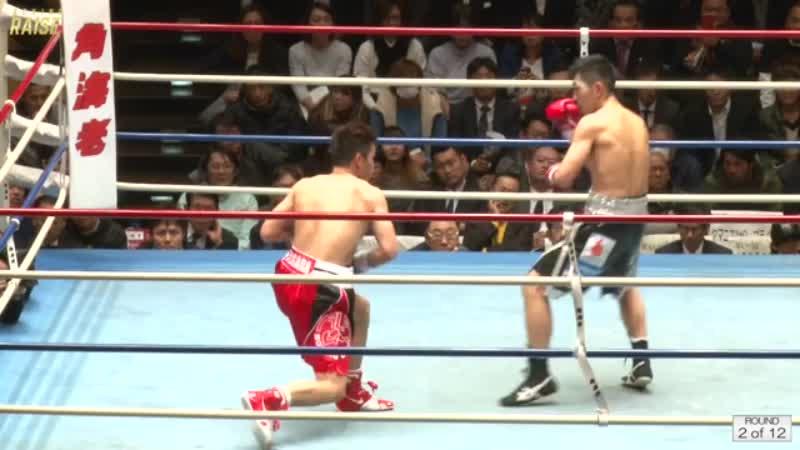 岡田 博喜 VS ジェイソン パガラ