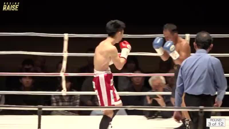 坂本 真宏 VS ウィチャー・プーライカオ