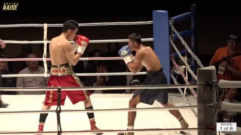 向井 寛史 VS カタウット・サイゲーオボクシングキャンプ