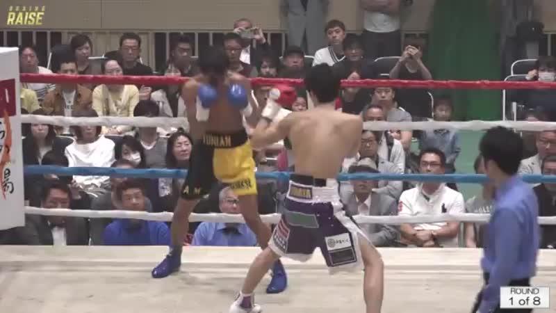 丸田 陽七太 VS アレガ・ユニアン