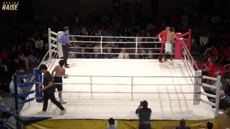 冨田 大樹 VS ポンパットレック・シットサイトーン