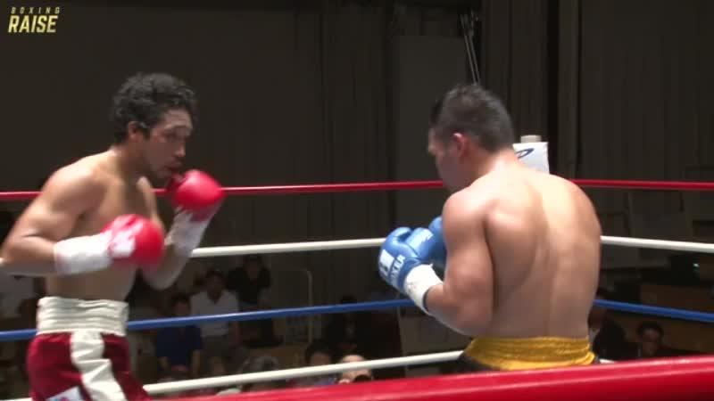 内藤 律樹 VS ジェリッツ・チャベス