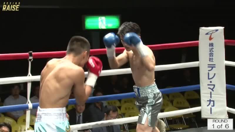 スゥ シャオタオ VS 濱田 力