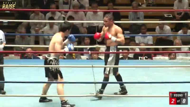 細川チャーリー忍 VS 成田 永生