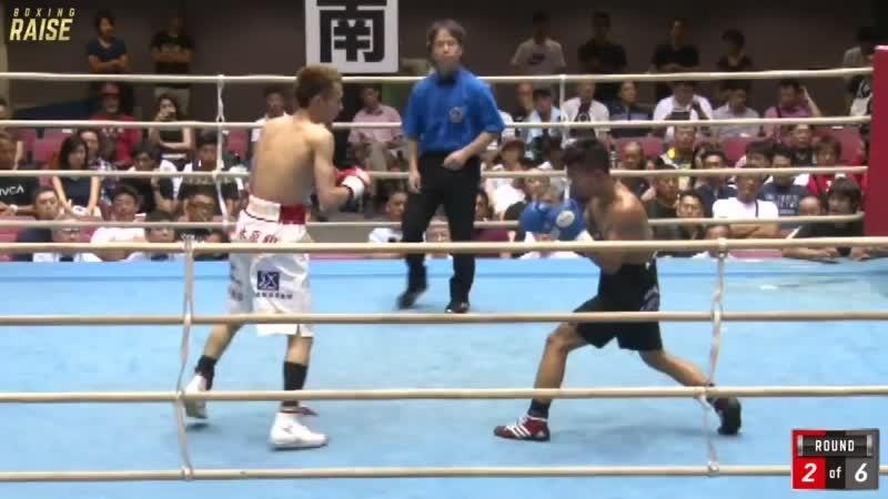 山庄司 裕大 VS レンディ・ストーン