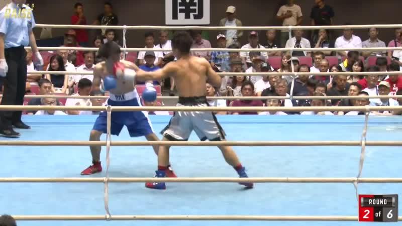 浅海 勝太 VS 東 健史