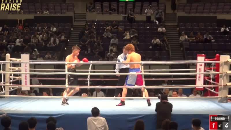 高橋 立帆 VS 松井 敦史