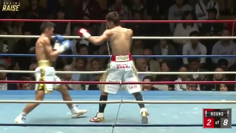 大里 拳 VS 杉田 聖