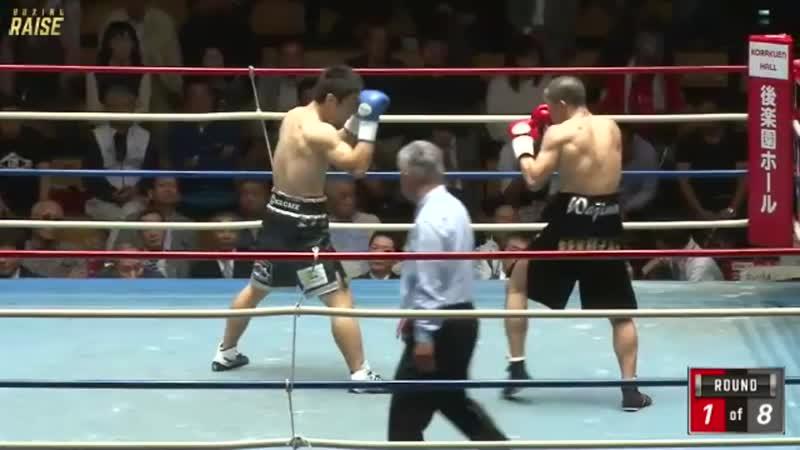 斉藤 幸伸丸 VS 松永 宏信