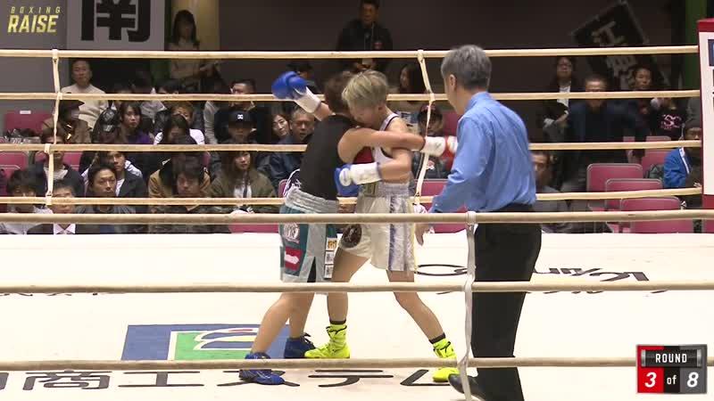 松田 恵里 VS 慶 美奈代