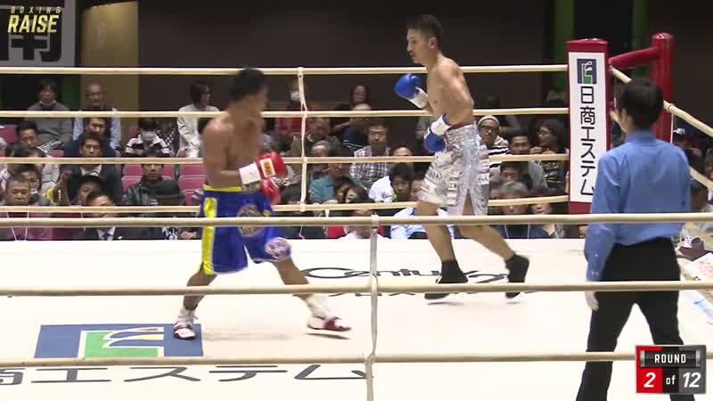 カルロ マガリ VS 仲村 正男