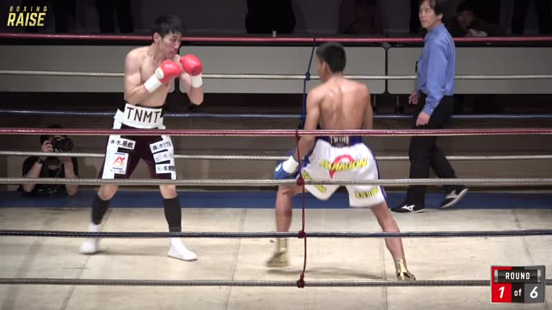 殿本 恭平 VS ナンティパット・ケーサ