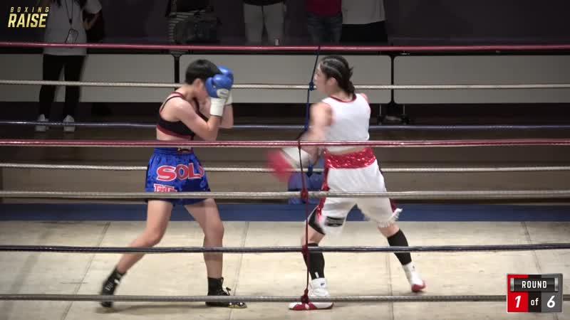 奥田 朋子 VS アンチャリー・マンコン