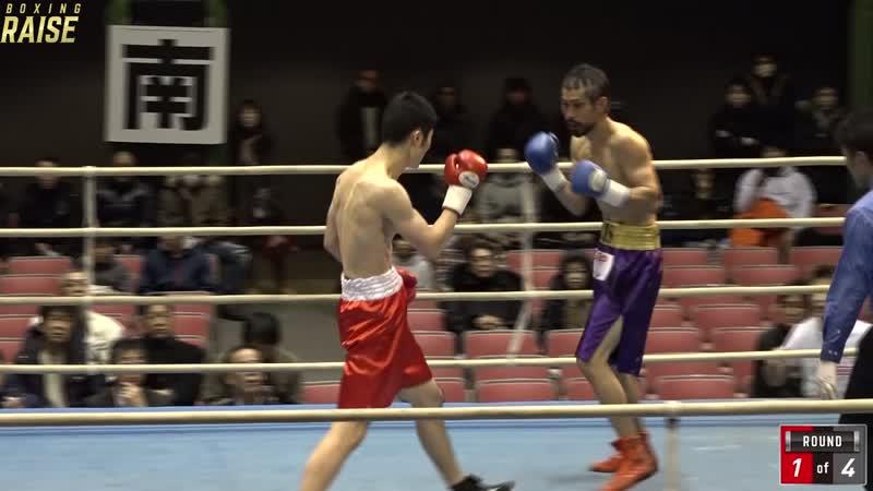 中田 勝浩 VS アンドレ竹原ジュニア