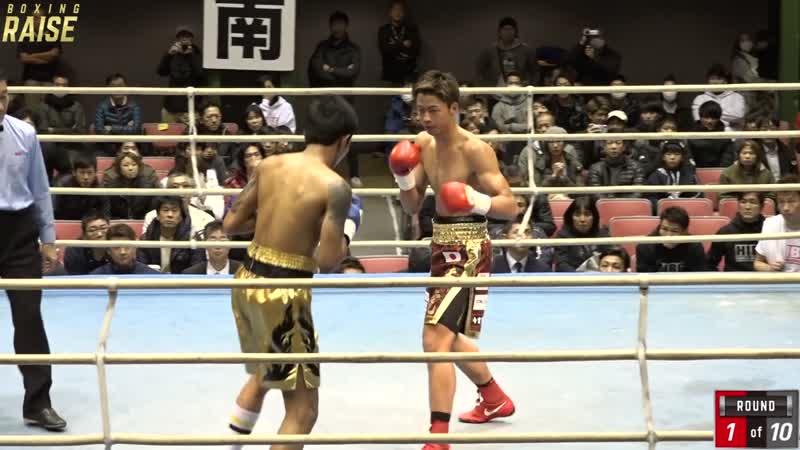 安達 陸虎 VS ポンサートーン ソムポン