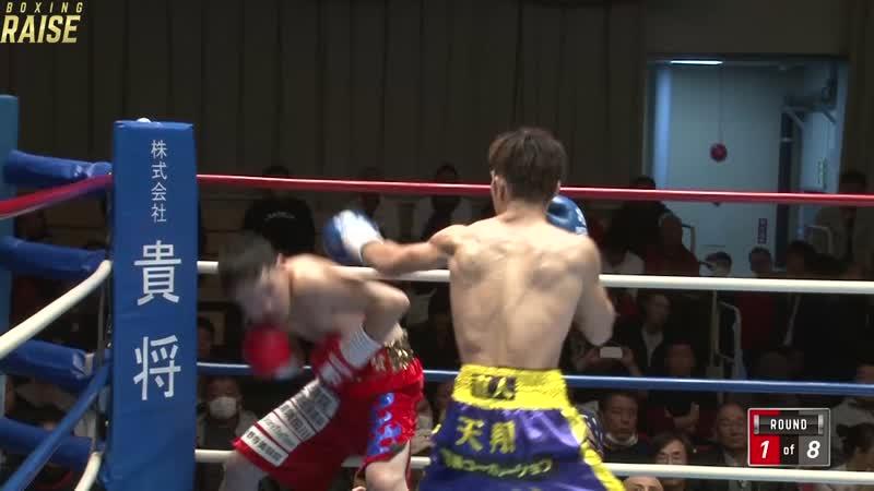 阿知和 賢 VS 藤本 直人