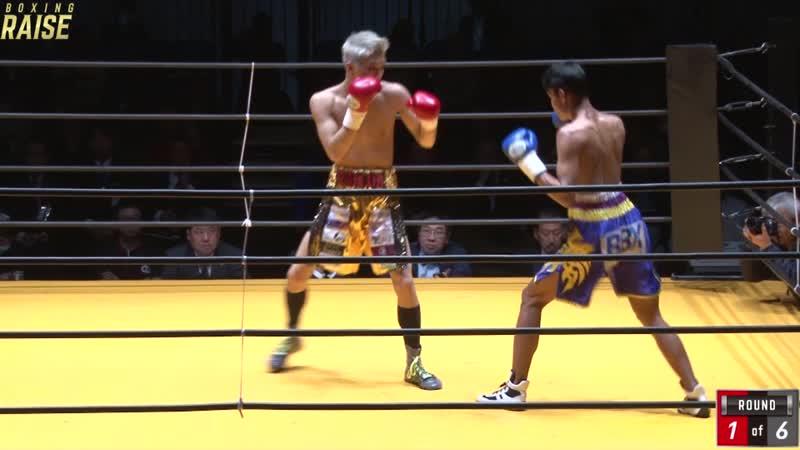 上野 太一 VS チナーティップ・タウィープーン
