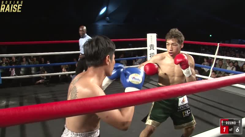 内藤 未来 VS ピロム・ケンプーキアオ