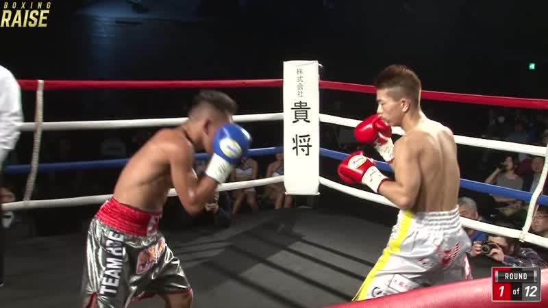小浦 翼 VS リト・ダンテ