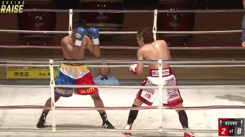 冨田 大樹 VS ジェフリー ガレロ