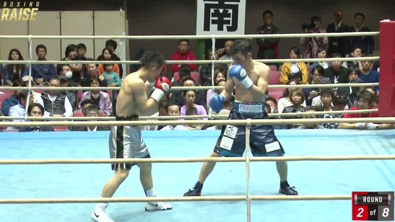 浅海 勝太 VS 岩井 尚斗