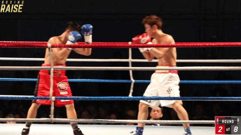 菅原 秀馬 VS ロリ・ガスカ