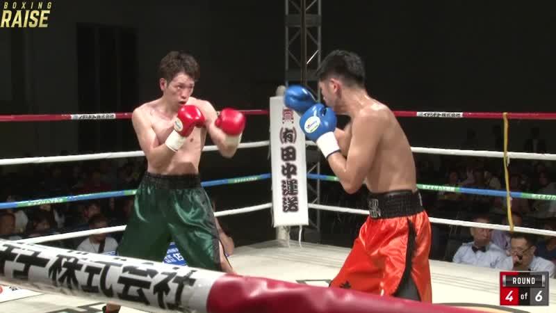 清 利樹 VS 加藤 寿