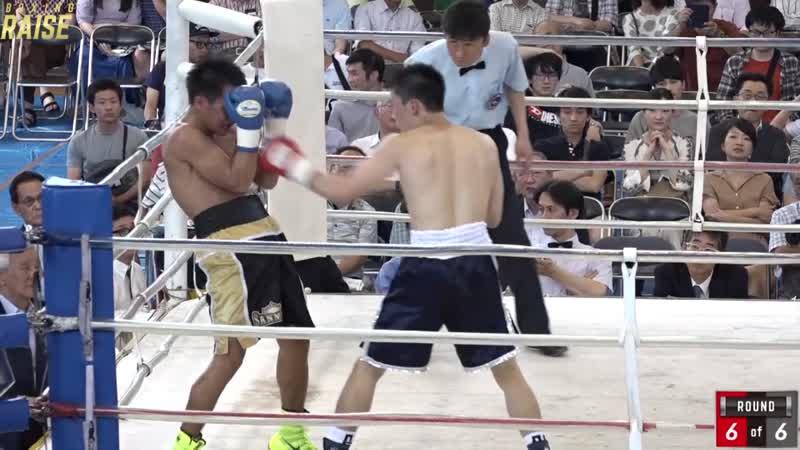 桑畑デカナルド闘凜生 VS エリク・プルゴ