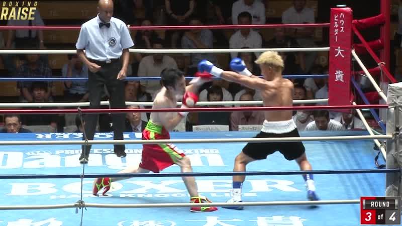 矢斬 佑季 VS 奈良井 翼