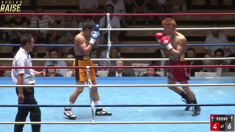 中井 龍 VS ジェイ ロイド クィドラット