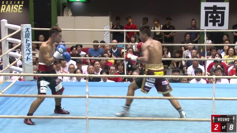 安達 陸虎 VS チェンジ濱島