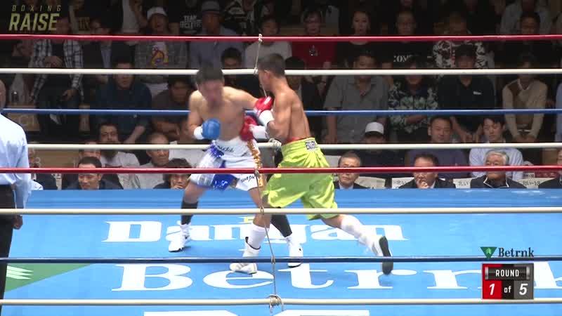 マービン・エスクエルド VS 伊藤 弘一